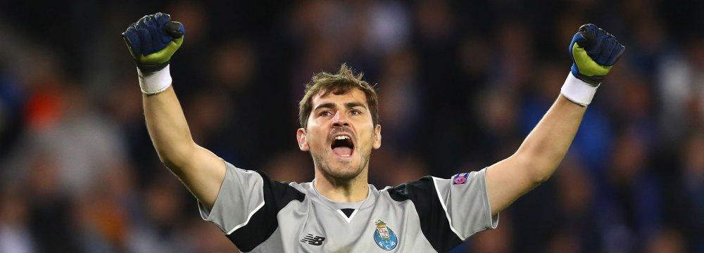 Casillas Wins Sixth League Title With Porto