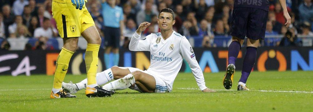 Tottenham Earns Point Against Real Madrid