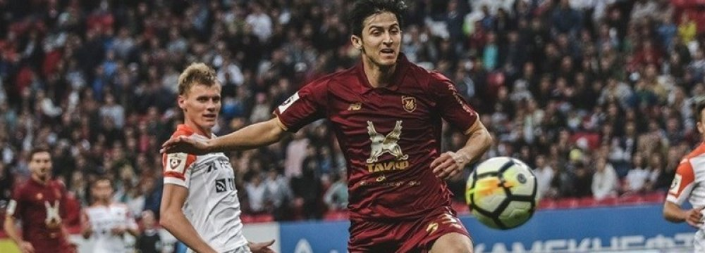 Azmoun Will Make Club Decision After World Cup