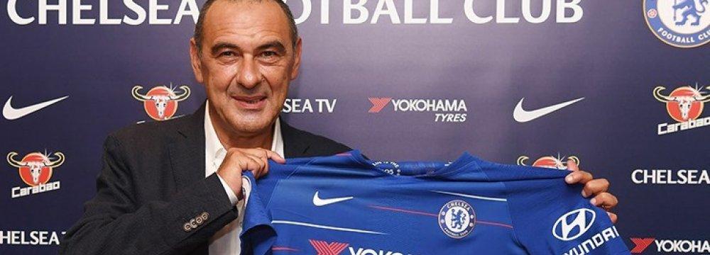 Maurizio Sarri Appointed Chelsea Boss