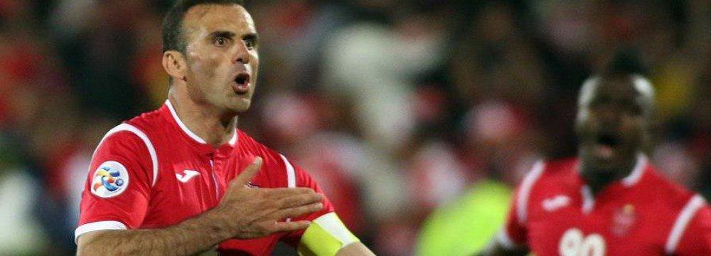 Hosseini's Goal Wins Majority Public Vote