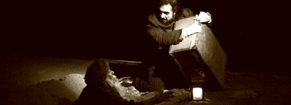 A scene from 'The Blind Owl'