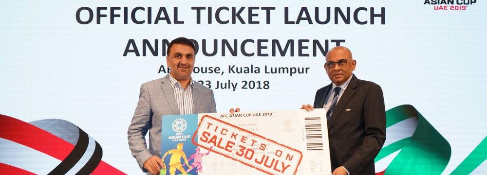 AFC Cup Ticket Sales Begin July 30