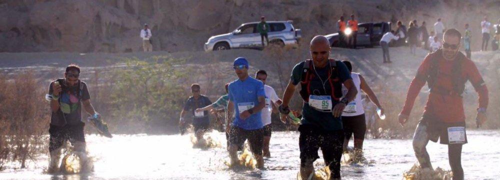 Qeshm Geopark Welcomes Trail Running Champions