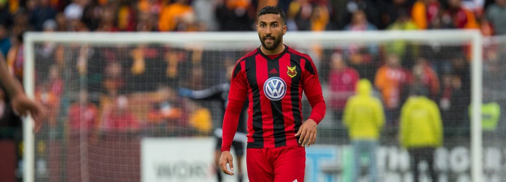 Ghoddos' Transfer Fee Reaches $6m