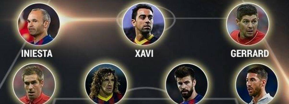 UEFA Century Team Named