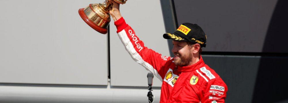 Sebastian Vettel Wins Formula 1 British Grand Prix