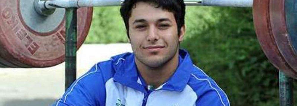 Iran Weightlifter Wins Bronze in Ashgabat