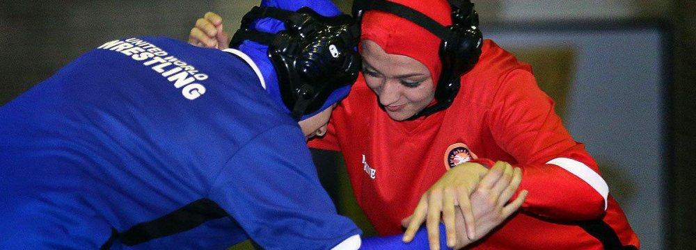 Ukrainian Champion Will Lead Iran Women's Wrestling Team
