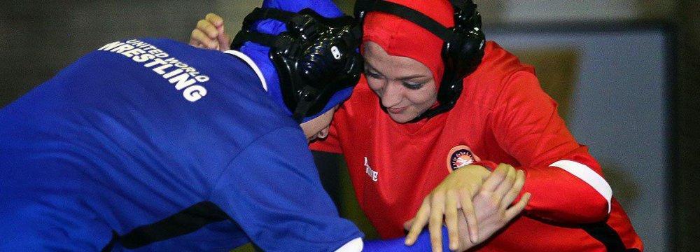 Women's Classic Wrestling Event at Azadi Sports Complex