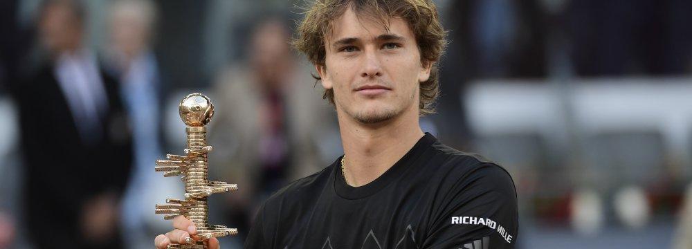 German Zverev Wins Madrid Masters