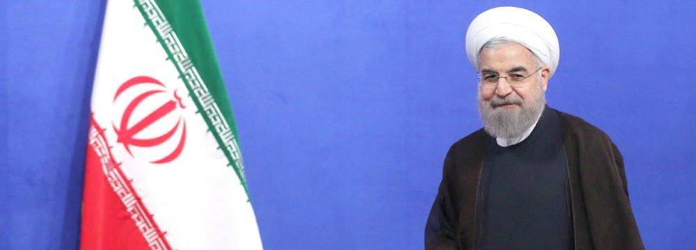 President Hassan Rouhani