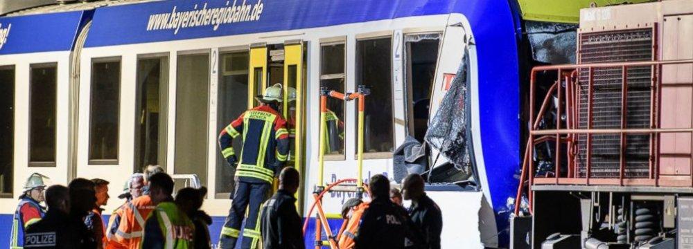 2 Dead in German Train Crash