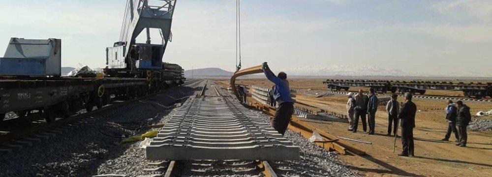 Railroad to Link Mediterranean Sea With Iran