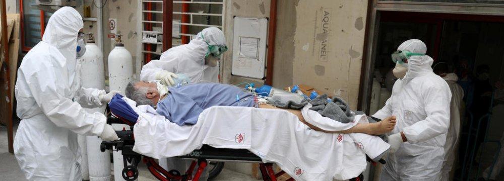 Iran Virus Death Toll Tops 17,000