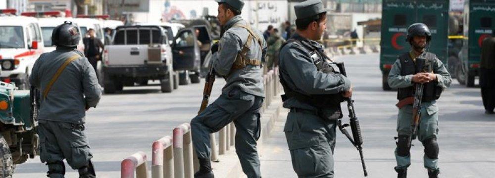 8 Afghan Police Killed in Insider Attack