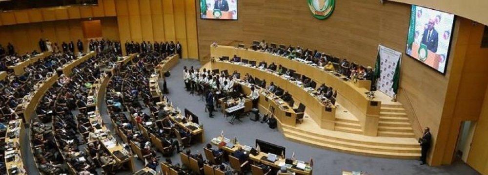 AU Summit  Slams Trump