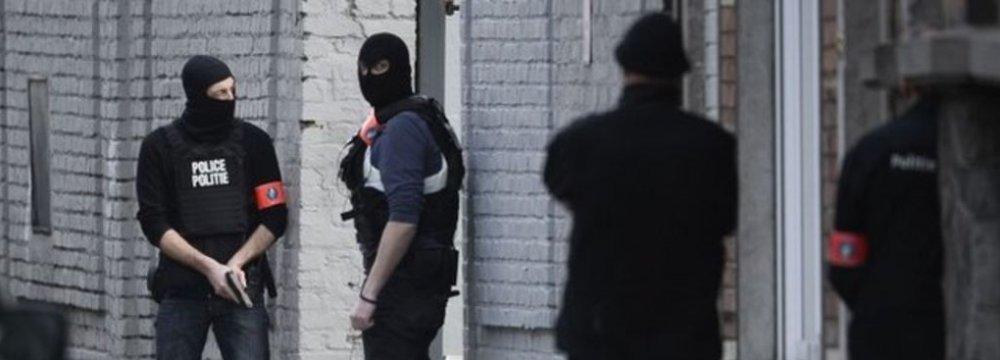 Belgian Police in Counter-Terror Raids