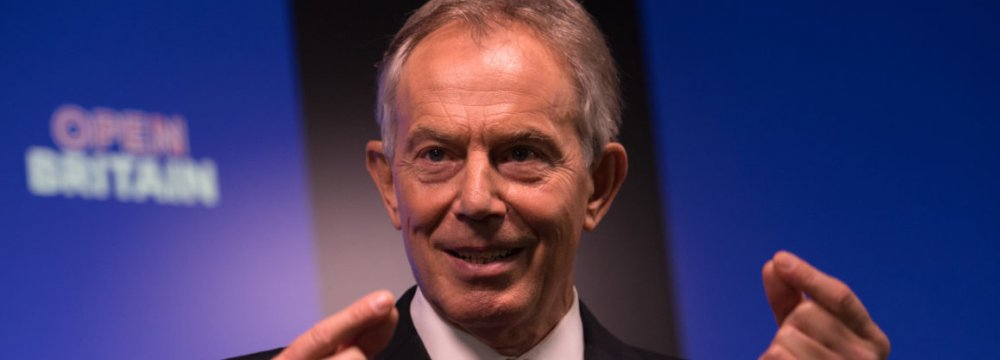 Blair: Rise Up Against Brexit