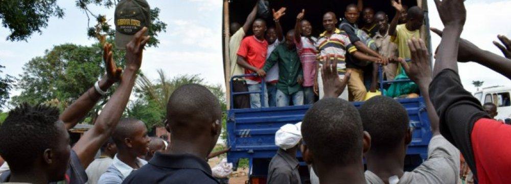 Burundi Pardons Prisoners