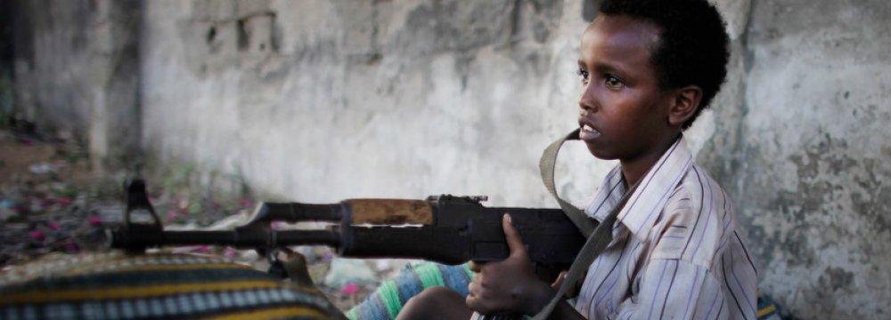 Child soldiers in Somalia (File Photo)
