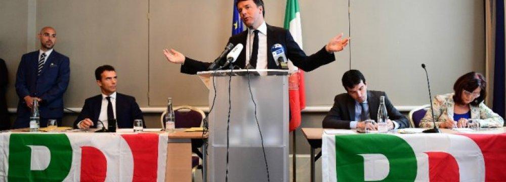 Renzi Wins Democratic Party Election