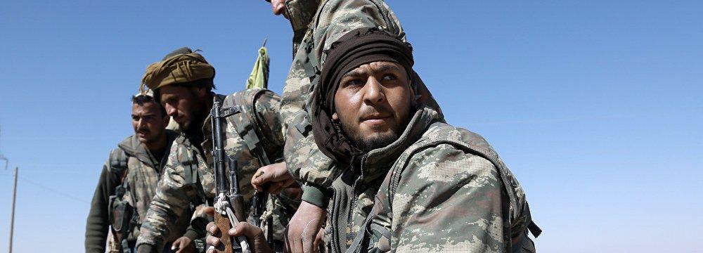 Kurdish-Led  Forces Liberate  IS-Held Village