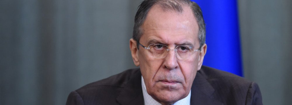 Lavrov Calls on UN to Stop Delaying Syria Talks