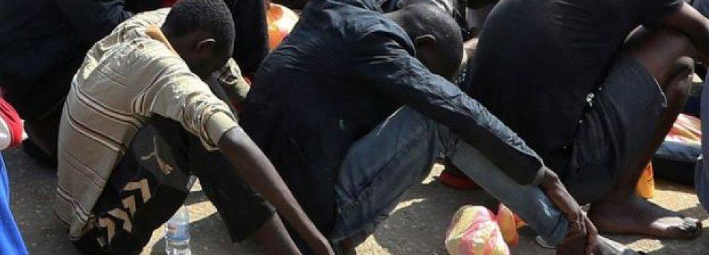"African Migrants Sold in Libya ""Slave Markets"""