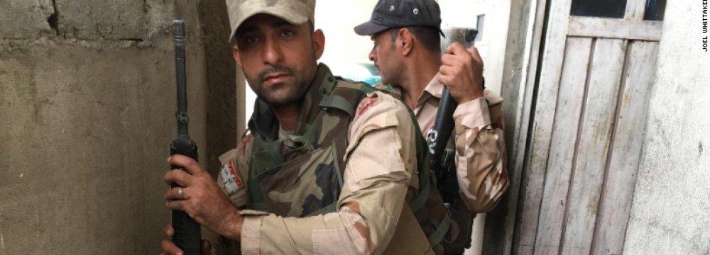 Iraqi soldiers in Mosul (File Photo)