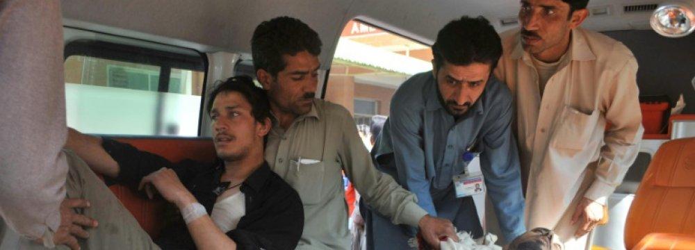 Explosions Rock Court  in Northwest Pakistan