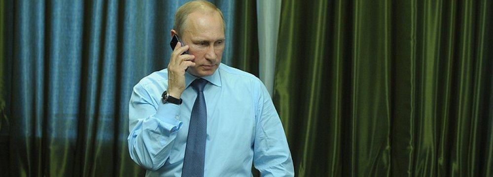 Putin-Trump Phone Talk Scheduled
