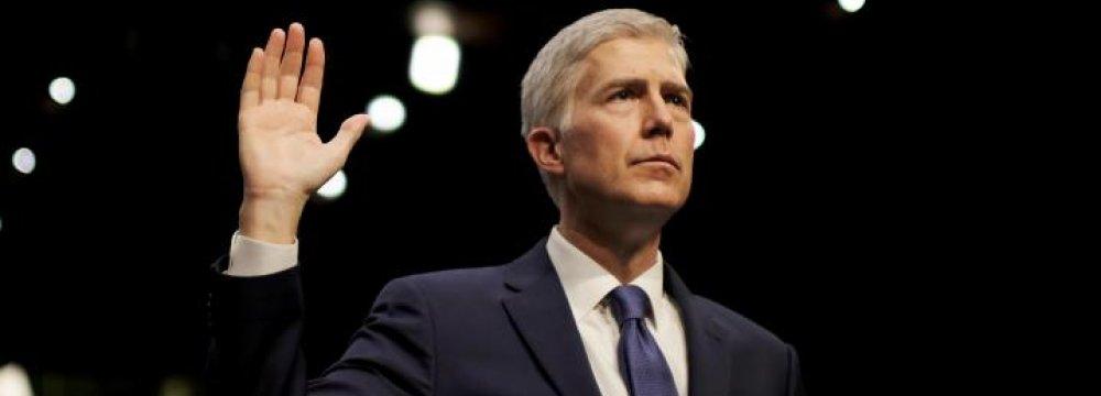 Senate Approves Trump's Supreme Court Pick
