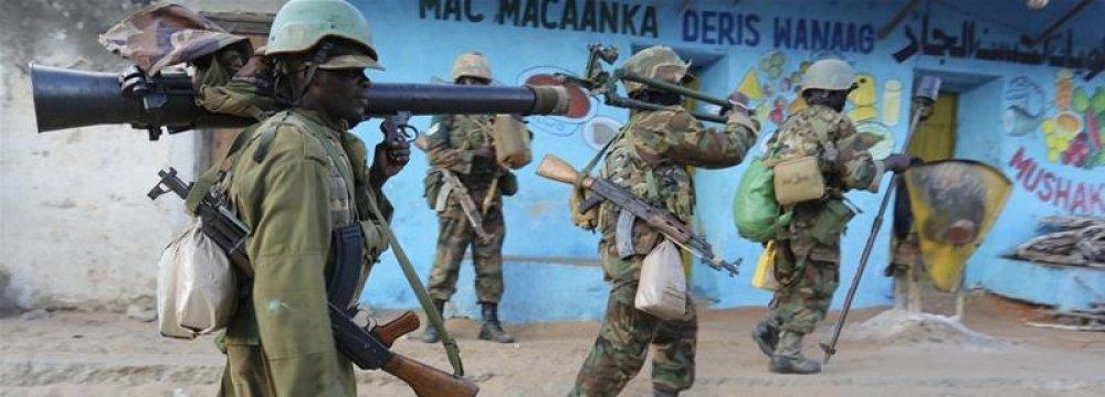 US Troops to Help Somalia Fight al-Shabaab