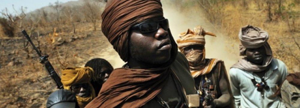 South Sudan rebels (File Photo)