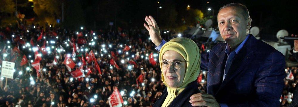 Opponents Challenge Erdogan's Slim Victory