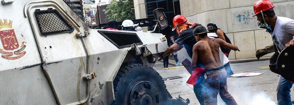 Latin American Nations Denounce Venezuela Crackdown