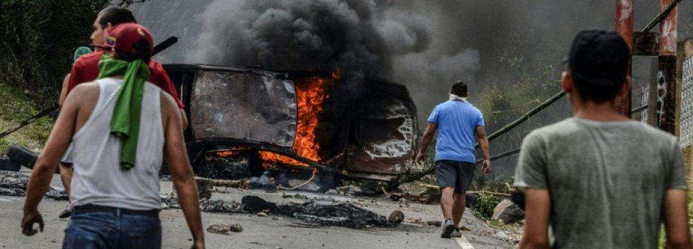3 Killed in Venezuela Protests