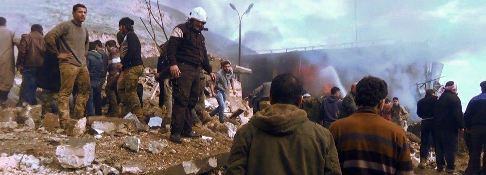 Car Bomb Kills Dozens in Syria