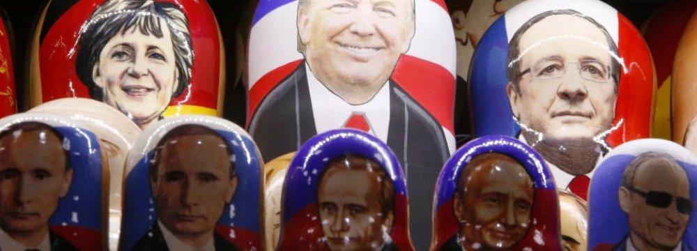 Moscow Accused of Harming  EU-US Ties