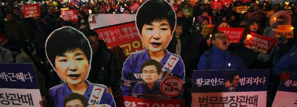 Self-Immolation at South Korean Rally