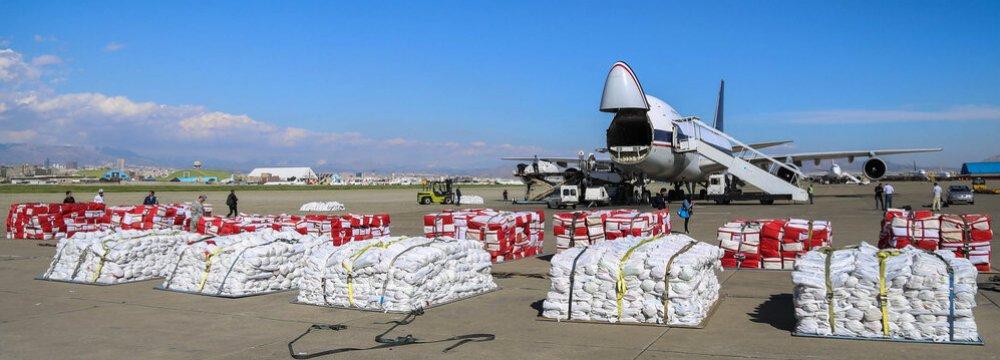 Massive Flood Relief Operations Underway