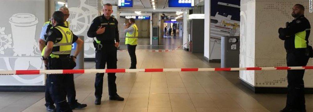 Terrorist Motive Cited in Amsterdam Knife Attack