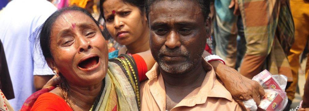 10 Die in Bangladesh Stampede