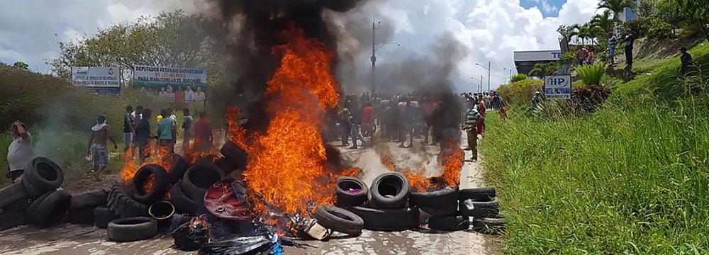 Brazil Forces Sent to Venezuela Border After Migrant Clashes