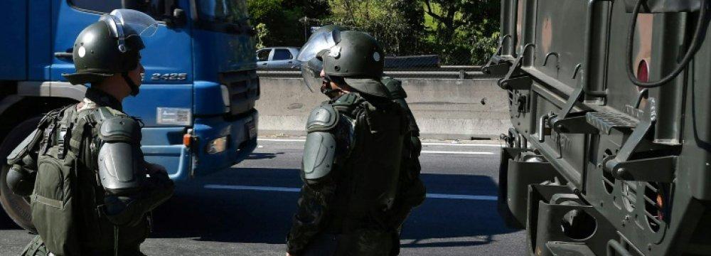 Brazil's Strike Chaos Stirs Military Coup Talk