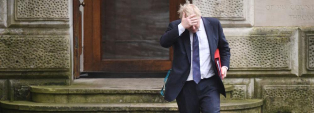 Boris Johnson Reveals Infighting Over Brexit