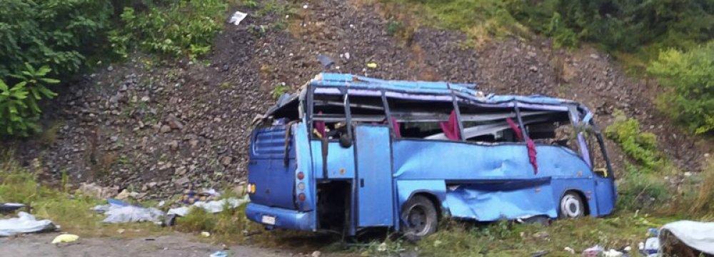 Several Killed  in Bus Crash  in Bulgaria