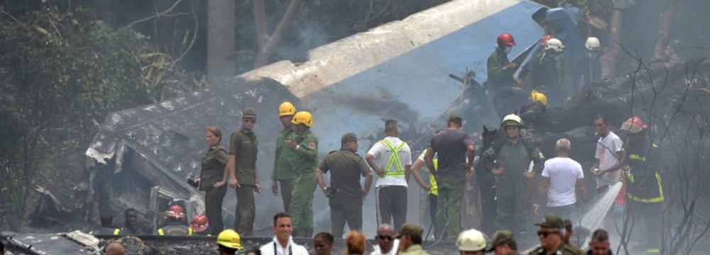 Black Box of Crashed Cuban Plane Recovered
