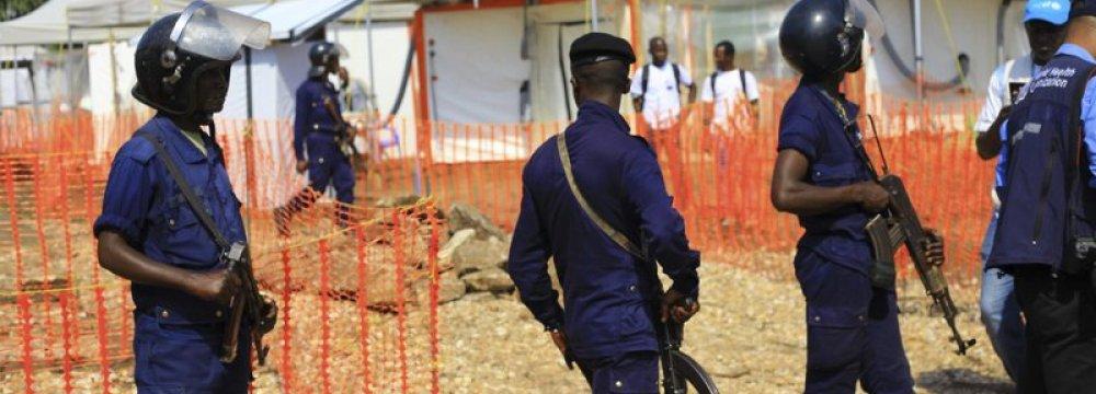 Ebola Outbreak in Congo War Zone